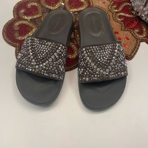 Gianni Bini Bling Slides Size 7